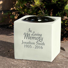 Personalised In Loving Memory Memorial Vase Grave Flower Bowl Cemetery Holder