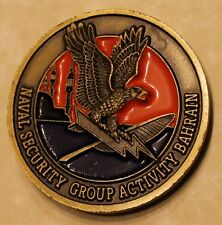 Naval Security Group Activity Bahrain NAVSECGRU Navy Challenge Coin