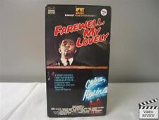 Farewell, My Lovely VHS Robert Mitchum, Charlotte Rampling; Dick Richards