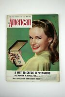 THE AMERICAN MAGAZINE June 1946 Jail Bait Story Illustrated