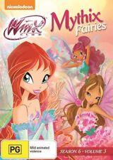 Winx Club - Mythix Fairies (DVD, 2015) video in original case PG Nickelodeon R 4