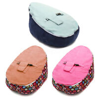 Baby Bean Bags Bed Infant Toddler Chair Seat Bouncer Beanbag Without Filling