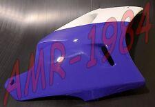 CARÉNAGE ANTÉRIEURE DROITE APRILIA AF1 125 FUTURA BIANCO VIOLET AP8131135
