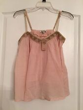 American Eagle Outfitters Woman's Baby Doll Blouse- Light Pink - Size Small NWT