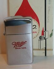 Zippo lighter Beer Miller High Life BEER RARE NEW IN BOX 1986  30 years Old