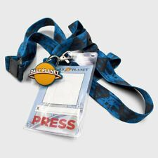 Dc Comics Superman collection DAILY PLANET PRESS PASS LANYARD NEW SOLD OUT!