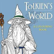 J R R Tolkien's World Colouring Book (Paperback, 2015) New Book