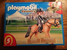 Playmobil 5111 Light Brown Horse with Trainer & Stable