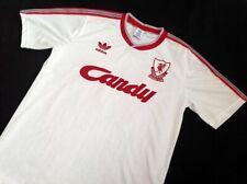 LIVERPOOL 3rd AWAY WHITE 1989-1990 SHIRT CANDY, ALDRIDGE, BARNES, S M L XL 2XL