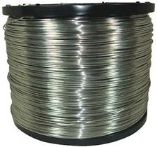 Never-Rust Aluminum Electric Fence Wire JEFFERS Livestock T8W7  9 ga 4000'