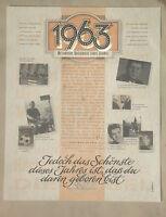 Geburtsjahr 1963 Urkunde*Zahlenblatt*Jahreszahlenblatt*