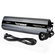 VIVOSUN 1000w Watt Dimmable Electronic Digital Ballast for HPS MH Grow Light