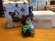 """Charming Tails """"Our Friendship Is A Magical Brew"""" Dean Griff Nib Halloween Witch"""