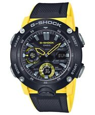 Casio G-Shock Carbon Core Guard Structure Rubber Strap Men's Watch GA2000-1A9