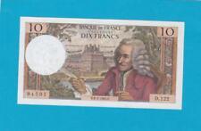 Billet 10 Francs Voltaire 08-01-1965