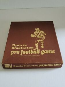 Vintage Sports Illustrated NFL Pro Football Game 1971 26 Team Charts w/ guides