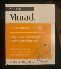 Murad city skin overnight detox moisturizer 1.7 Fl Oz NIB