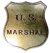 Sceriffo Stern US-Marshall BADGE IN OTTONE 1789 Edmund Randolph