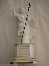 POPE JOHN PAUL II STATUE FROM THE RICHARD GINORI COLLECTION NUMBER 8 OF 3000