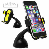 Rotating Car Adjustable Mount Holder Stand 360° SuctionCup Cradle for Iphone HTC