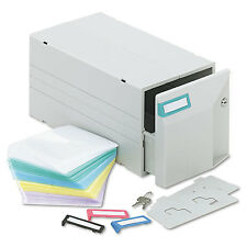 Innovera CD/DVD Storage Drawer Holds 150 Discs Light Gray 39501