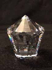 Vintage Swarovski Crystal Clear Carousel Cupcake Paperweight Retired