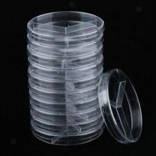 5~10Pcs Plastic Petri Dishes 35-90MM Cell Culture Dish High Temp Resistant