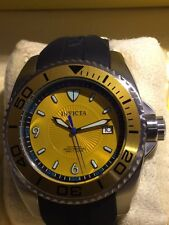 INVICTA Pro-Diver Master of the Oceans Automatic Yellow - Seiko NH25A Mov't