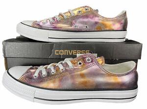 Converse Chuck Taylor All Star Ox Sneaker Metallic Pink Sneaker 157654F 12 Men