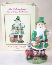 The International Santa Claus Collection Irish Father Christmas Figurine Ireland
