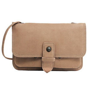 Anchor21 Crossbody Bag and Waist Pouch, Convertible Wallet, Full Grain Genuine L