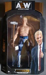 AEW Unrivaled Collection Serie 1 Nr. 01 Cody Neu / Ovp WWE