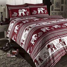 Single Bed Duvet Cover & 1 Pillow Case Set Woodland Creatures Owls Fox /