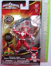 Brand NEW Power Rangers Metallic Force Mighty Morphin Red Ranger (Item #35115)
