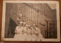 Vintage Old WW2 1945 B&W Photograph Nurses Graduating in Hawaii, USA, Ephemera