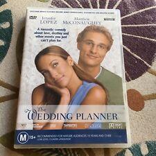THE WEDDING PLANNER DVD.