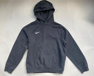 Nike Black Hoodie Kids Sweatshirt Large 12-13 Yrs