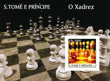 S Tomé e Príncipe - 2004 - Chess  / 1+2+3+4