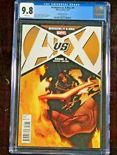 1:50 Wolverine Variant Cover! AVENGERS VS X-MEN cgc 9.8 NM/MT Adam Kubert Art #9
