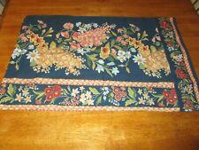 Vintage Pillow case ATELIER MARTEX 1980S 100% cotton  standard size floral