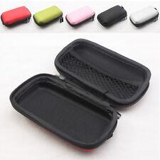 New Mini Carring Hard Storage Holder Bag Case Box For Earphone Earbud Headphone