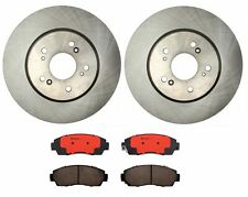 Brembo Front Brake Kit Ceramic Pads Coated Disc Rotors for Acura RDX Honda CR-V