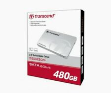 "TRANSCEND 2.5"" SOLID STATE DRIVE (SSD220S) 480GB | SATA 6Gb/s | Read 540MB/s"
