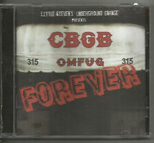 CBGB FOREVER - FOO FIGHTERS, GREEN DAY, BLONDIE, RAMONES, U2, TALKING HEADS, GOO