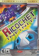 RICOCHET INFINITY - NEW Retail Box - Breakout Space Puzzle Mumbo Jumbo PC Game