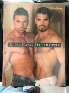 Nude Male Photography Book Lucas Kazan Italian Style Bruno Gmunder