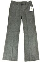 Calvin Klein Womens Dress Pants Classic Fit Black/White New With Tags