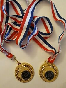 Medals 2 x The Home of Ping Pong 1901