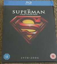 Superman: Complete Collection - 1978-2006 (Blu-ray Disc, 2012, 5-Disc Set)