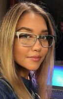 New DSQUARED2 DQ 5097 017 54MM Silver Eyeglasses Frame